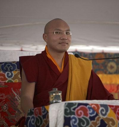 法王噶玛巴在美国的照片(4);
